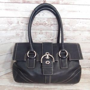 Coach Hampton Satchel Handbag  F10913